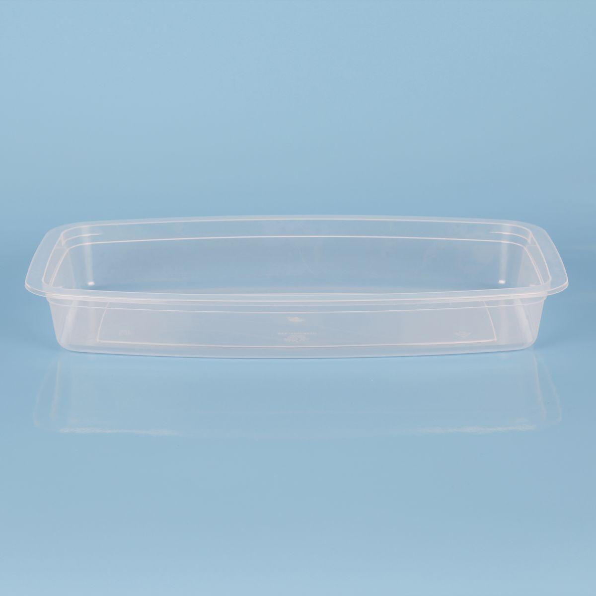 Vassoio in plastica per alimenti termosaldabile -
