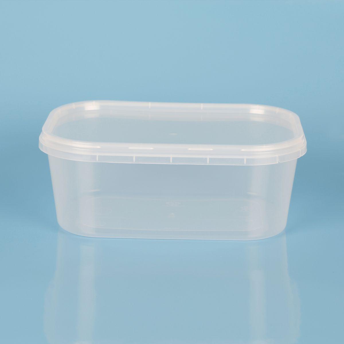 Vaschetta per gelato in plastica con sigillo – Codice Resaplast 014001