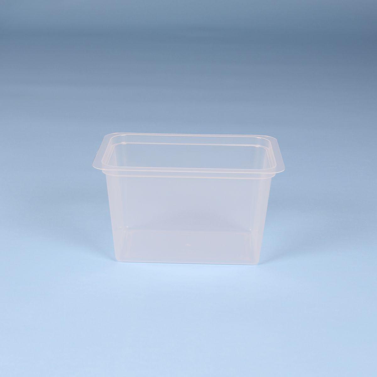 Vaschetta per latticini litri 0,73 - Codice 015036