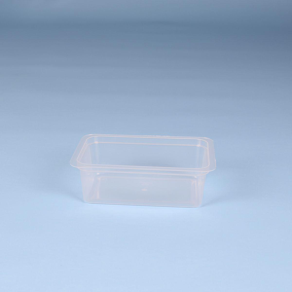 Fondo Vaschetta in plastica per latticini – Codice 015037