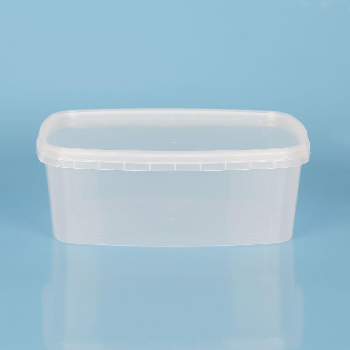 Vaschetta litri 0,5 chiusura con sigillo