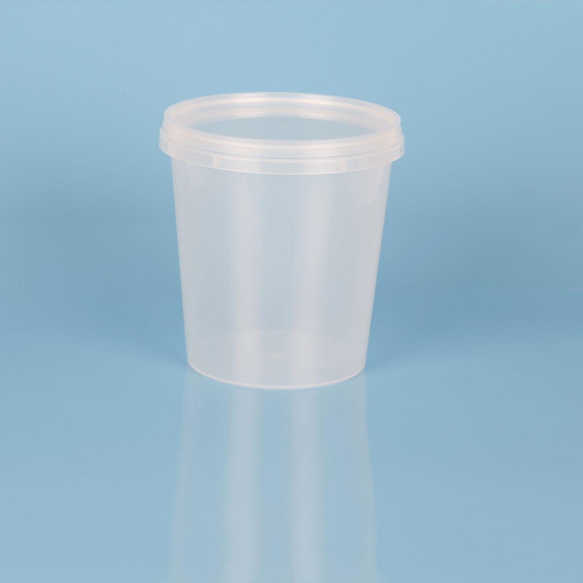 Barattolo in plastica per alimenti  – Codice 019013