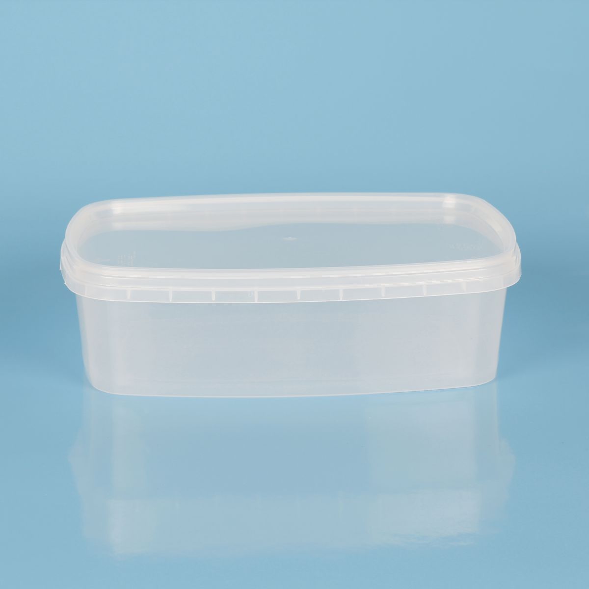 contenitore in plastica trasparente - Codice 107016