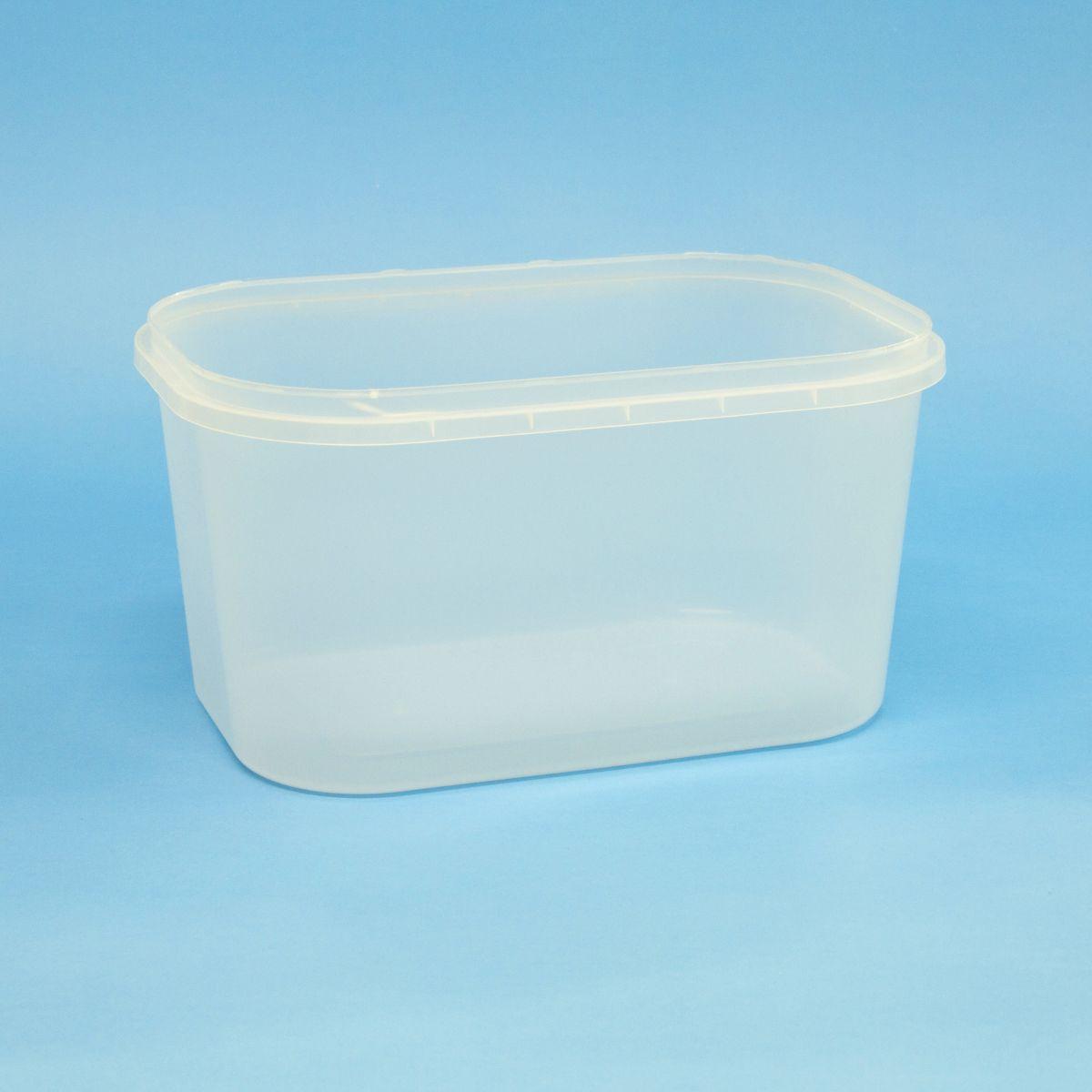 Vaschetta litri 3 chiusura con sigillo – Cod. 016041