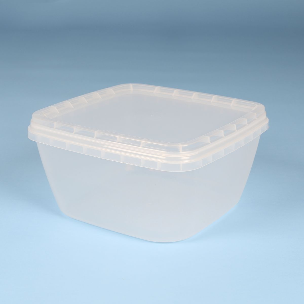 Vaschetta per alimenti quadrata con chiusura con sigillo - Cod. Quadrata 2